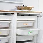 Lego Organization Cabinet